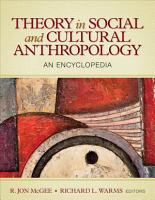 Theory in Social and Cultural Anthropology PDF