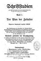 Der Plan der Zeitalter PDF