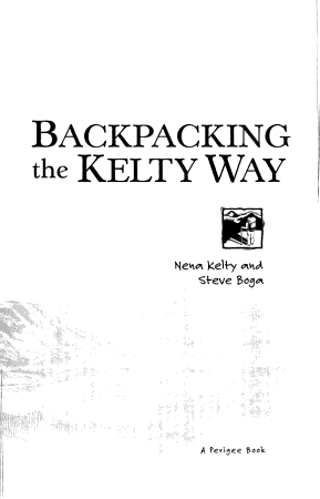 Backpacking the Kelty Way PDF