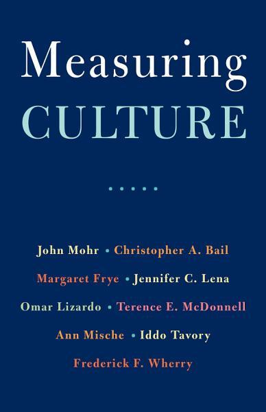 Download Measuring Culture Book