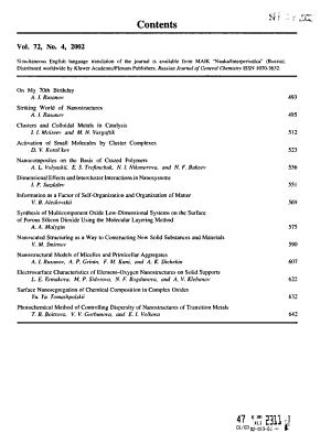 Russian Journal of General Chemistry PDF