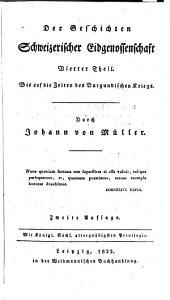 Die Geschichte schweizerischer Eidgenossenschaft