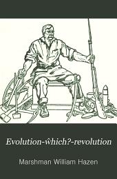 Evolution-ŵhich?-revolution