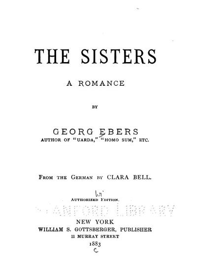 The Sisters PDF