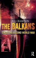 The Balkans Since the Second World War PDF