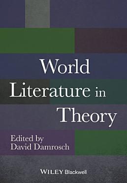 World Literature in Theory PDF