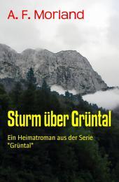 """Sturm über Grüntal: Ein Heimatroman aus der Serie """"Grüntal"""