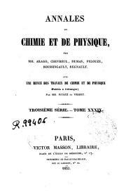 Annales de chimie et de physique: Volume39
