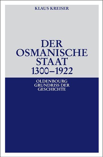 Der Osmanische Staat 1300 1922 PDF