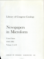 Newspapers in Microform