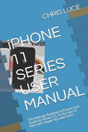 IPHONE 11 SERIES USER MANUAL