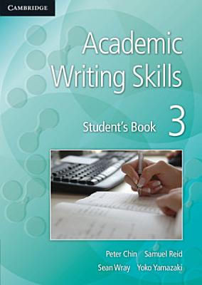 Academic Writing Skills 3 Student s Book PDF