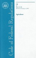 Code of Federal Regulations  Title 7  Agriculture  PT  1 26  Revised as of January 1  2010 PDF