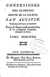 Confesiones del glorioso doctor de la Iglesia San Agustin