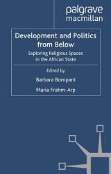 Development and Politics from Below PDF