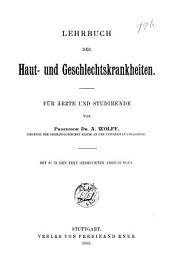 Lehrbuch der Haut- und Geschlechtskrankheiten: für Ärzte und Studirende