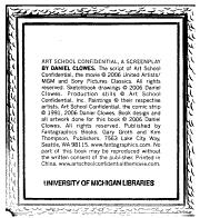 Art School Confidential PDF