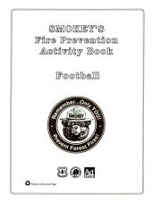 Smokey's fire prevention activity book: football