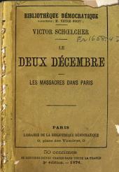 Le deux décembre: les massacres dans Paris