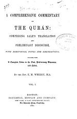 A Comprehensive Commentary on the Qurán