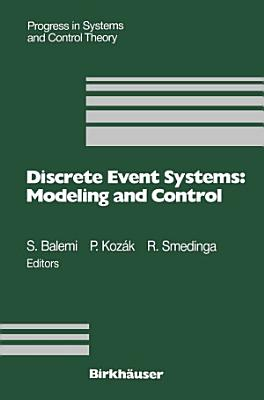 Discrete Event Systems  Modeling and Control