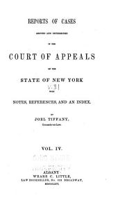 Reports of Cases Argued and Determined in the Court of Appeals of the State of New York: Volume 31