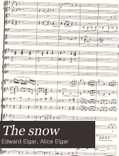 The snow: three-part song for female voices and orchestra