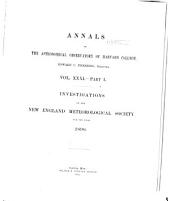 Annals of the Astronomical Observatory of Harvard College: Volume 31