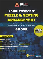 A Complete Book on Puzzles & Seating Arrangement New Edition (eBook)