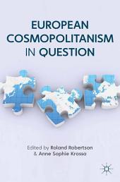 European Cosmopolitanism in Question