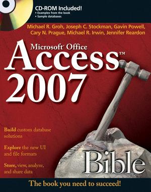 Access 2007 Bible PDF