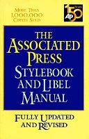 Download Associated Press Stylebook And Libel Manual Book