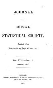 Journal of the Royal Statistical Society: Volume 58
