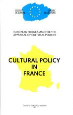 Cultural Policy in France PDF