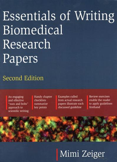 Essentials of Writing Biomedical Research Papers  Second Edition PDF
