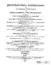 Encyclopaedia Londinensis: Volume 12