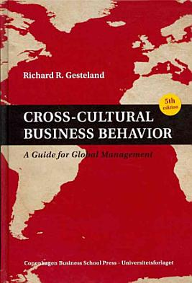 Cross cultural Business Behavior