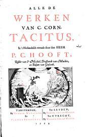 Alle de werken van C. Corn. Tacitus: Volume 1