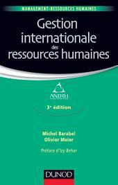 Gestion internationale des ressources humaines - 3e édition