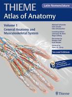 General Anatomy and Musculoskeletal System  THIEME Atlas of Anatomy   Latin nomenclature PDF