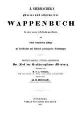 Der Adel des Grossherzogthums Oldenburg