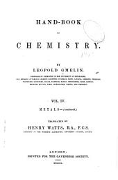 Hand Book of Chemistry: Volume 4
