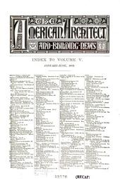 American Architect and Building News: 1879, Volume 5