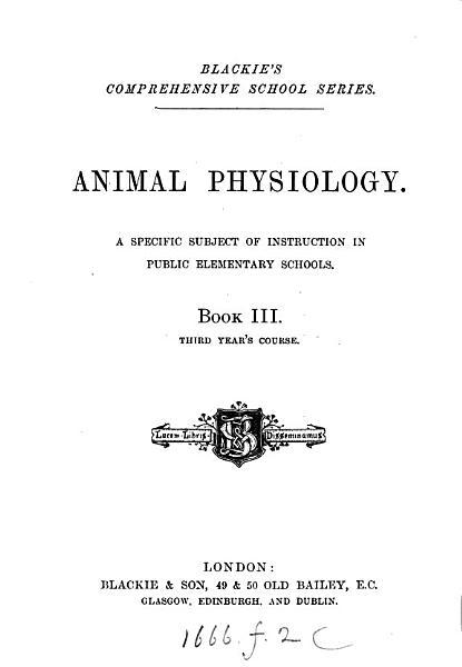 Animal Physiology 2
