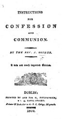 Instructions and Devotions for Confession, Communion, and Confirmation