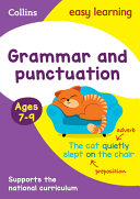 Grammar and Punctuation Ages 7-9: Prepare for School with Easy Home Learning (Collins Easy Learning KS2)