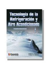 Tecnología de la refrigeración y aire acondicionado: Volumen 1