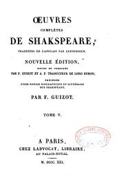 Oeuvres complètes de Shakespeare
