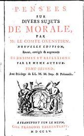 Pensees Sur Divers Sujets De Morale: Volume2