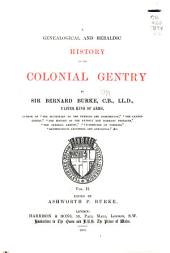 A Genealogical and Heraldic History of the Colonial Gentry ...